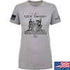 IV8888 Ladies Founding Fathers' City Tavern Signage T-Shirt T-Shirts SMALL / Light Grey by Ballistic Ink - Made in America USA