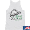 IV8888 Green Dragon Tavern Signage Tank Tanks SMALL / White by Ballistic Ink - Made in America USA