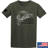 IV8888 Green Dragon Tavern Signage T-Shirt T-Shirts Small / Military Green by Ballistic Ink - Made in America USA