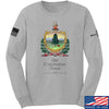 IV8888 Old Constitution House Tavern Signage Long Sleeve T-Shirt Long Sleeve Small / Light Grey by Ballistic Ink - Made in America USA