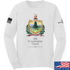 IV8888 Old Constitution House Tavern Signage Long Sleeve T-Shirt Long Sleeve Small / White by Ballistic Ink - Made in America USA