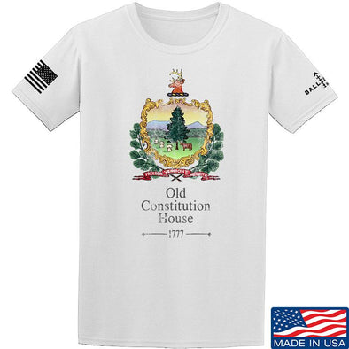 IV8888 Old Constitution House Tavern Signage T-Shirt T-Shirts Small / White by Ballistic Ink - Made in America USA