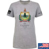 IV8888 Ladies Old Constitution House Tavern Signage T-Shirt T-Shirts SMALL / Light Grey by Ballistic Ink - Made in America USA