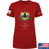 IV8888 Ladies Old Constitution House Tavern Signage T-Shirt T-Shirts SMALL / Red by Ballistic Ink - Made in America USA