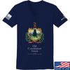 IV8888 Ladies Old Constitution House Tavern Signage V-Neck T-Shirts, V-Neck SMALL / Navy by Ballistic Ink - Made in America USA