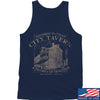 IV8888 Founding Fathers' City Tavern Tank Tanks SMALL / Navy by Ballistic Ink - Made in America USA