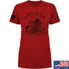 IV8888 Ladies Founding Fathers' City Tavern T-Shirt T-Shirts SMALL / Red by Ballistic Ink - Made in America USA