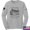 IV8888 Old Constitution House Tavern Long Sleeve T-Shirt Long Sleeve Small / Light Grey by Ballistic Ink - Made in America USA