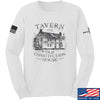 IV8888 Old Constitution House Tavern Long Sleeve T-Shirt Long Sleeve Small / White by Ballistic Ink - Made in America USA