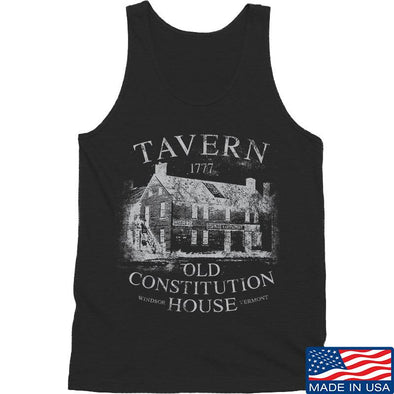 IV8888 Old Constitution House Tavern Tank Tanks SMALL / Black by Ballistic Ink - Made in America USA