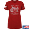 IV8888 Ladies Old Constitution House Tavern T-Shirt T-Shirts SMALL / Red by Ballistic Ink - Made in America USA