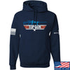IV8888 Top Gun Barrett M107A1 Hoodie Hoodies Small / Navy by Ballistic Ink - Made in America USA