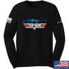 IV8888 Top Gun Barrett M107A1 Long Sleeve T-Shirt Long Sleeve Small / Black by Ballistic Ink - Made in America USA