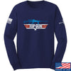 IV8888 Top Gun Barrett M107A1 Long Sleeve T-Shirt Long Sleeve Small / Navy by Ballistic Ink - Made in America USA