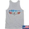 IV8888 Top Gun Barrett M107A1 Tank Tanks SMALL / Light Grey by Ballistic Ink - Made in America USA