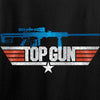 IV8888 Top Gun Barrett M107A1 Long Sleeve T-Shirt Long Sleeve [variant_title] by Ballistic Ink - Made in America USA
