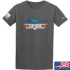 IV8888 Top Gun Barrett M107A1 T-Shirt T-Shirts Small / Charcoal by Ballistic Ink - Made in America USA