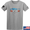 IV8888 Top Gun Barrett M107A1 T-Shirt T-Shirts Small / Light Grey by Ballistic Ink - Made in America USA