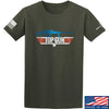 IV8888 Top Gun Barrett M107A1 T-Shirt T-Shirts Small / Military Green by Ballistic Ink - Made in America USA