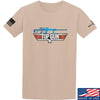 IV8888 Top Gun Barrett M107A1 T-Shirt T-Shirts Small / Sand by Ballistic Ink - Made in America USA