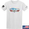 IV8888 Top Gun Barrett M107A1 T-Shirt T-Shirts Small / White by Ballistic Ink - Made in America USA