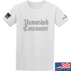IV8888 Unwashed Commoner T-Shirt T-Shirts Small / White by Ballistic Ink - Made in America USA