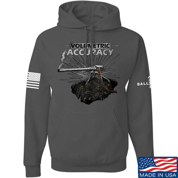 IV8888 Volumetric Accuracy Hoodie Hoodies Small / Charcoal by Ballistic Ink - Made in America USA