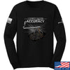 IV8888 Volumetric Accuracy Long Sleeve T-Shirt Long Sleeve Small / Black by Ballistic Ink - Made in America USA