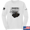 IV8888 Volumetric Accuracy Long Sleeve T-Shirt Long Sleeve Small / White by Ballistic Ink - Made in America USA
