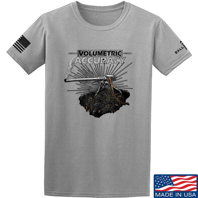 IV8888 Volumetric Accuracy T-Shirt T-Shirts Small / Light Grey by Ballistic Ink - Made in America USA