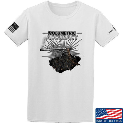 IV8888 Volumetric Accuracy T-Shirt T-Shirts Small / White by Ballistic Ink - Made in America USA