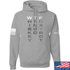 IV8888 Whiskey Tango Foxtrot (WTF) Hoodie Hoodies Small / Light Grey by Ballistic Ink - Made in America USA