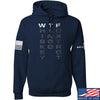 IV8888 Whiskey Tango Foxtrot (WTF) Hoodie Hoodies Small / Navy by Ballistic Ink - Made in America USA