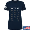 IV8888 Ladies Whiskey Tango Foxtrot T-Shirt T-Shirts SMALL / Navy by Ballistic Ink - Made in America USA