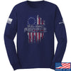 IV8888 We The People Long Sleeve T-Shirt Long Sleeve Small / Navy by Ballistic Ink - Made in America USA