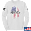 IV8888 We The People Long Sleeve T-Shirt Long Sleeve Small / White by Ballistic Ink - Made in America USA