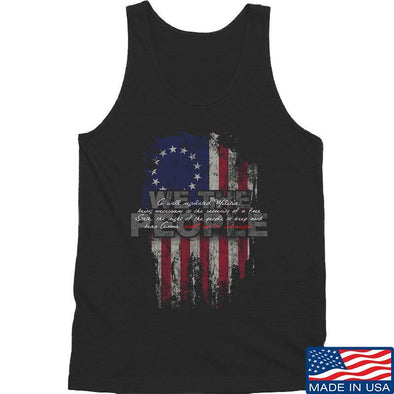 IV8888 We The People Tank Tanks SMALL / Black by Ballistic Ink - Made in America USA