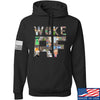 IV8888 Woke AF Hoodie Hoodies Small / Black by Ballistic Ink - Made in America USA