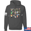 IV8888 Woke AF Hoodie Hoodies Small / Charcoal by Ballistic Ink - Made in America USA