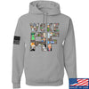 IV8888 Woke AF Hoodie Hoodies Small / Light Grey by Ballistic Ink - Made in America USA