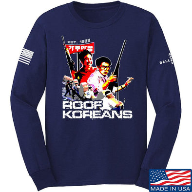 Roof Koreans Long Sleeve T-Shirt