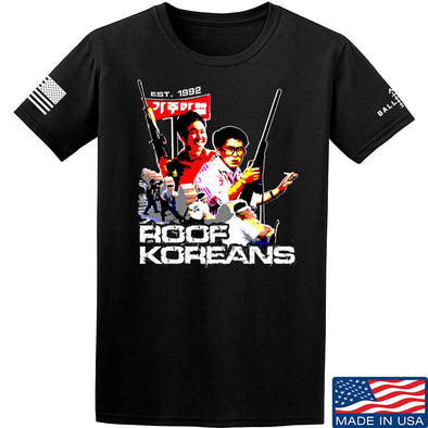 IV8888 Roof Koreans T-Shirt T-Shirts Small / Black by Ballistic Ink - Made in America USA