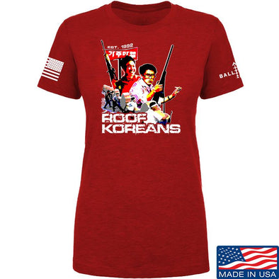 Ladies Roof Koreans T-Shirt