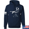 Men of Arms Apparel Marilyn AK Hoodie Hoodies Small / Navy by Ballistic Ink - Made in America USA