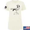 Men of Arms Apparel Ladies Marilyn AK T-Shirt T-Shirts SMALL / Cream by Ballistic Ink - Made in America USA