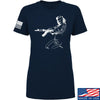 Men of Arms Apparel Ladies Marilyn AK T-Shirt T-Shirts SMALL / Navy by Ballistic Ink - Made in America USA