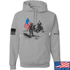 IV8888 First Man on The Moon Hoodie Hoodies Small / Light Grey by Ballistic Ink - Made in America USA
