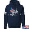 IV8888 First Man on The Moon Hoodie Hoodies Small / Navy by Ballistic Ink - Made in America USA