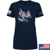IV8888 Ladies First Man on The Moon T-Shirt T-Shirts SMALL / Navy by Ballistic Ink - Made in America USA