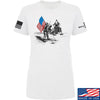 IV8888 Ladies First Man on The Moon T-Shirt T-Shirts SMALL / White by Ballistic Ink - Made in America USA